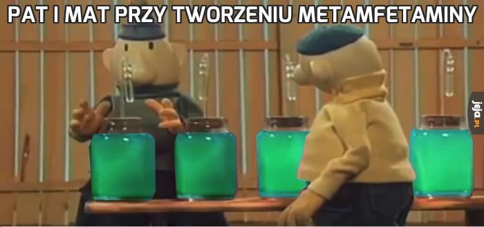 Pat i Mat przy tworzeniu metamfetaminy