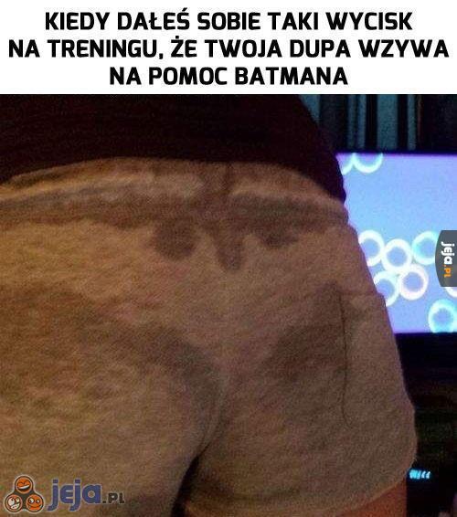 Potrzebna będzie pomoc Batmana!