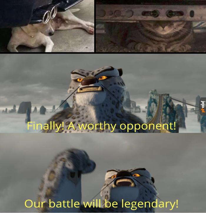 No chwilę czekaliśmy na tę walkę
