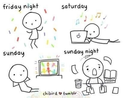 Monotonia weekendowa