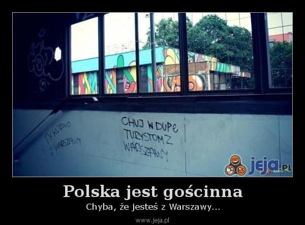 Polska jest gościnna