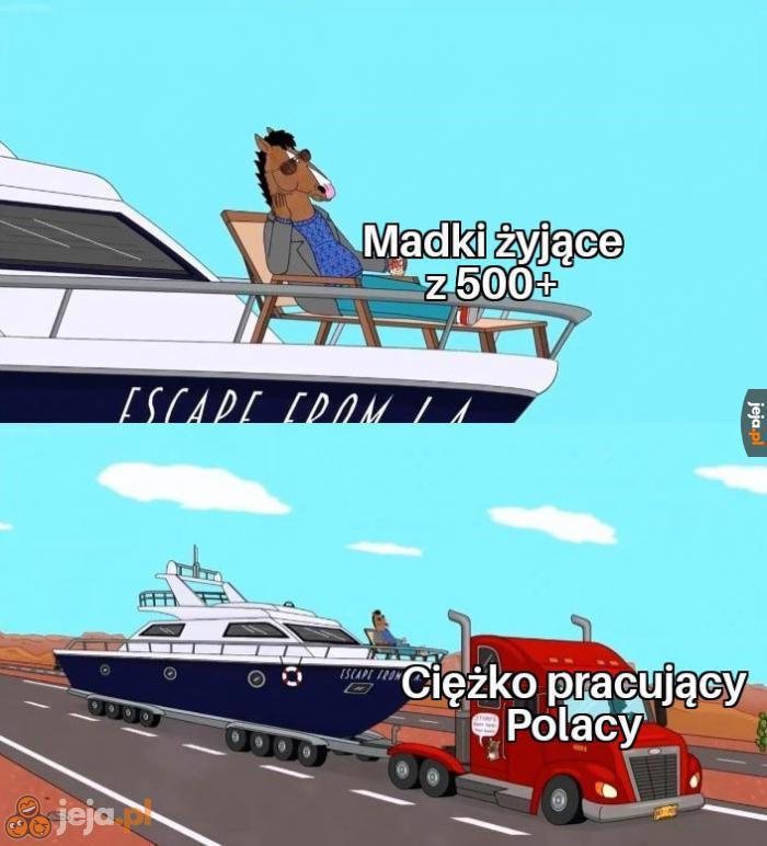 I tak jakoś żyje się w tej Polsce