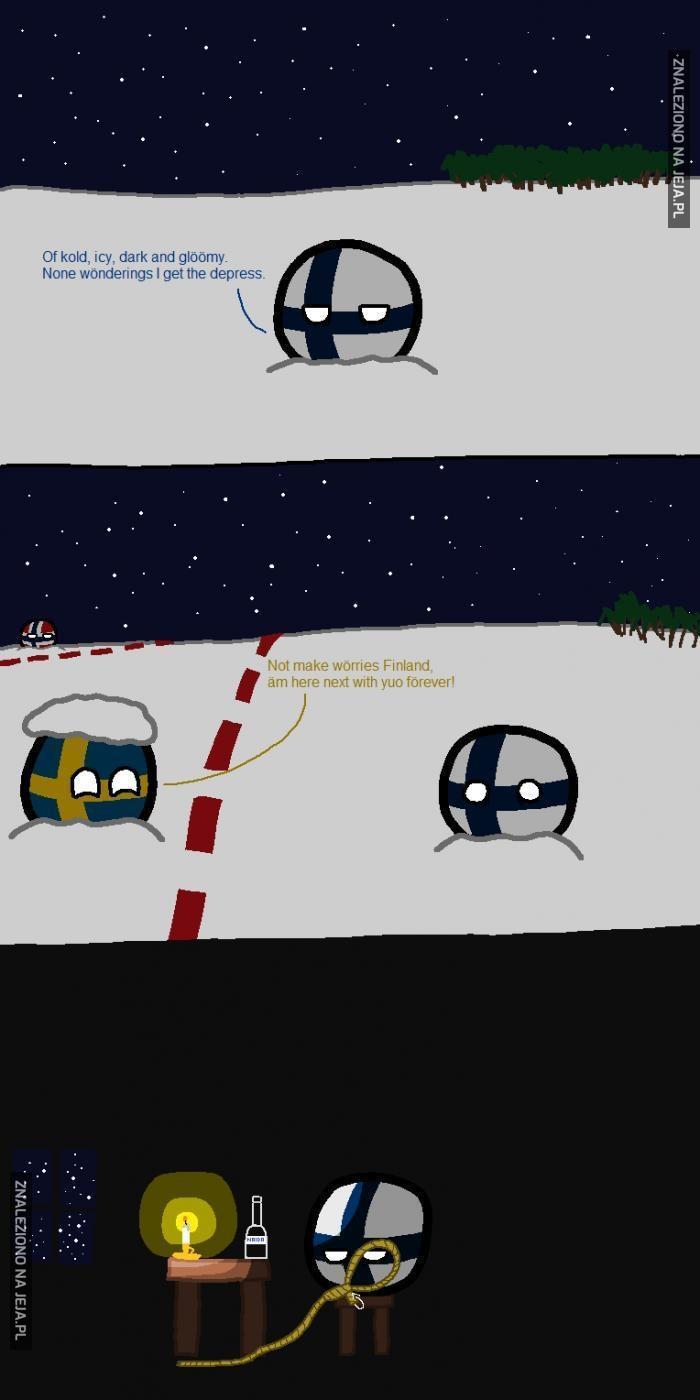Finlandia popada w depresję