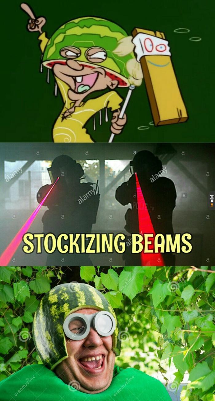 Gdy Twoje dzieciństwo dotknie promień Stocka