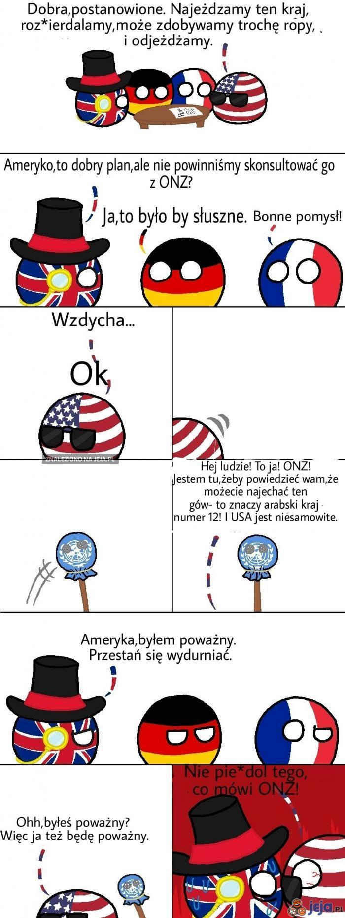 Co mówi ONZ
