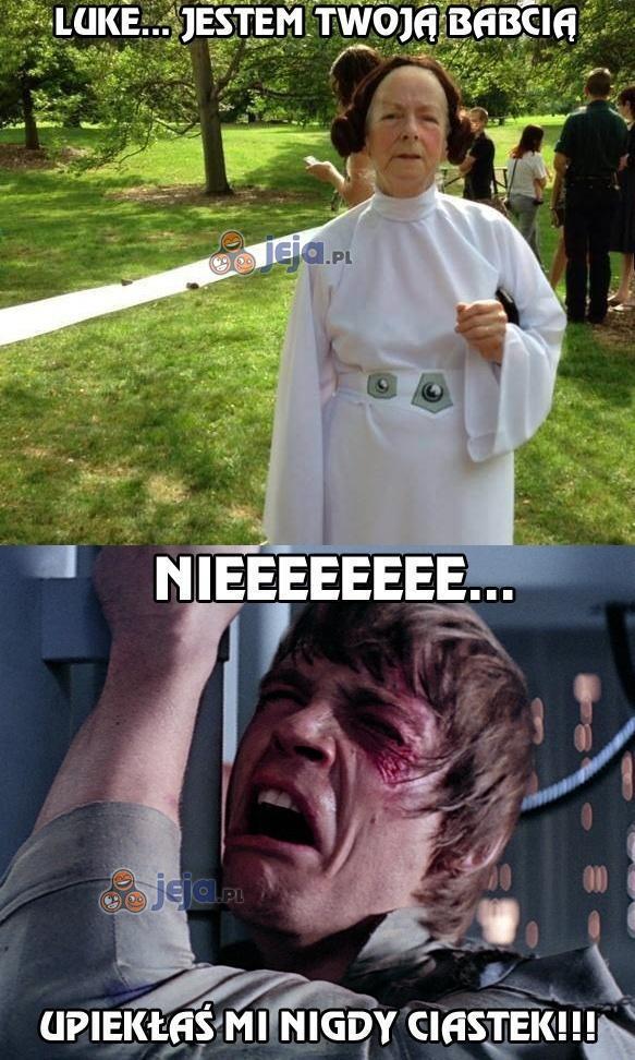 Luke... Jestem twoją babcią