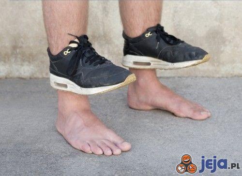 Buty do chodzenia po wodzie