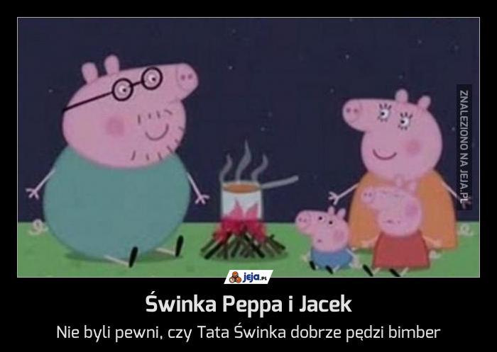 świnka Peppa I Jacek Jejapl
