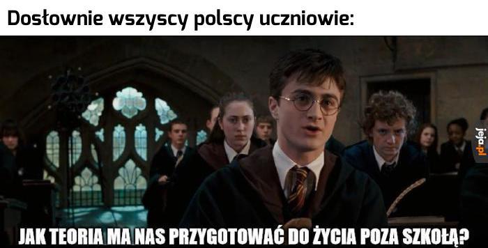 Mamy więcej podobieństw do Hogwartu niż się nam wydaje