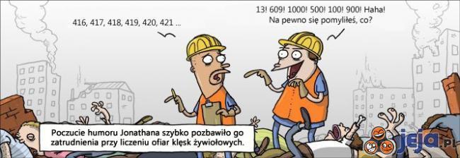 Poczucie humoru vs zatrudnienie
