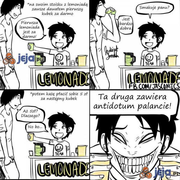 Przekręt z lemoniadą