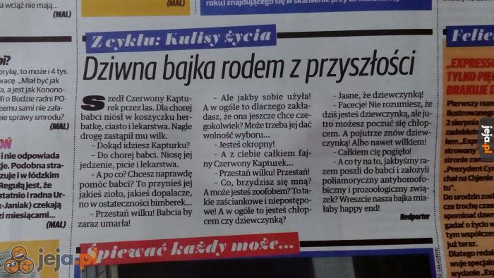 Tymczasem w zgierskiej gazecie