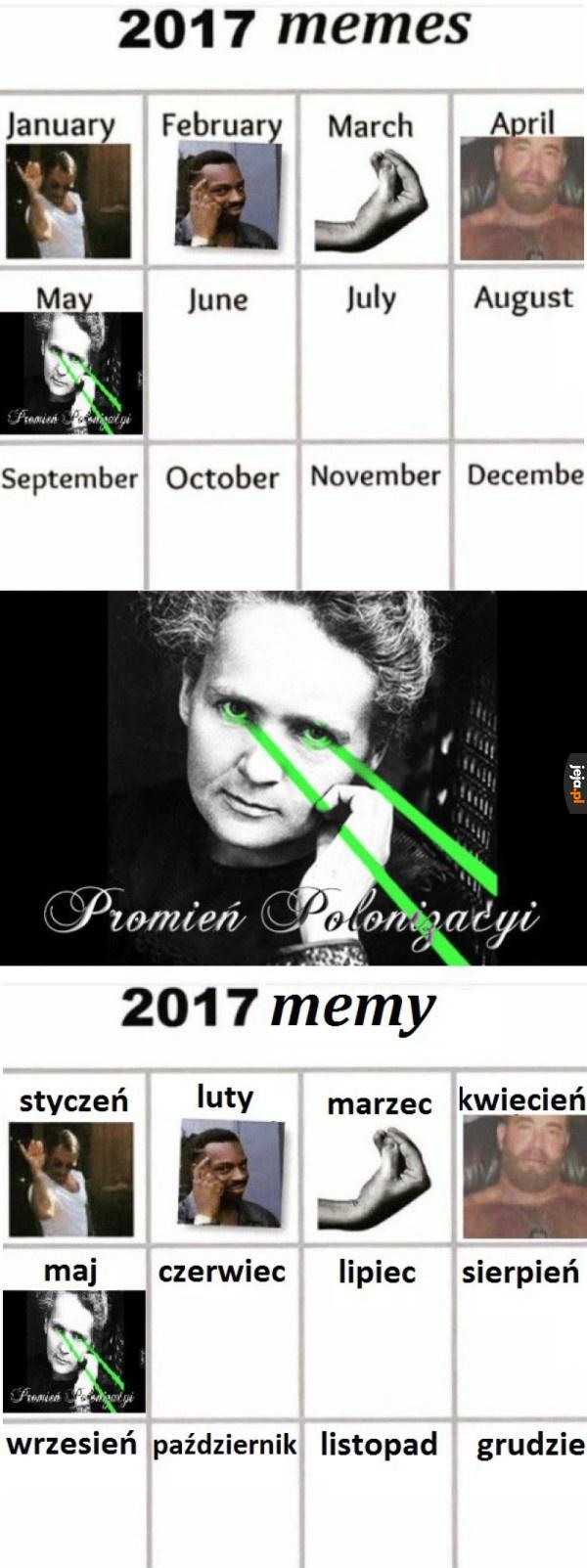 Polski promień, polski mem!