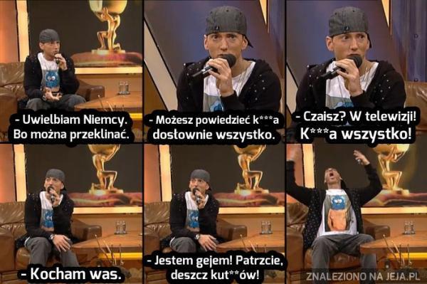 Eminem w niemieckiej telewizji