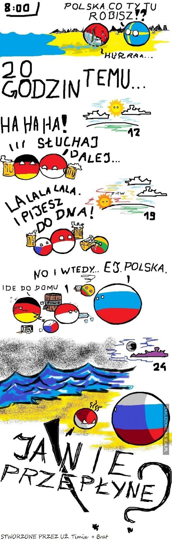 Polska, co ty tu robisz?