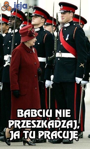 Ciężko być wnukiem królowej