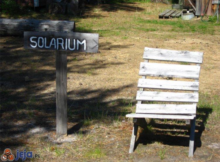 Letnie solarium