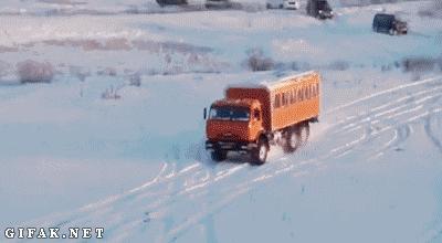 Ciężarówką na górkę i... z górki