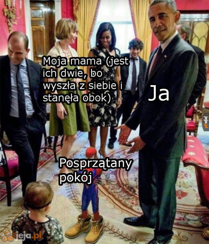 Mama, chodź zobacz!