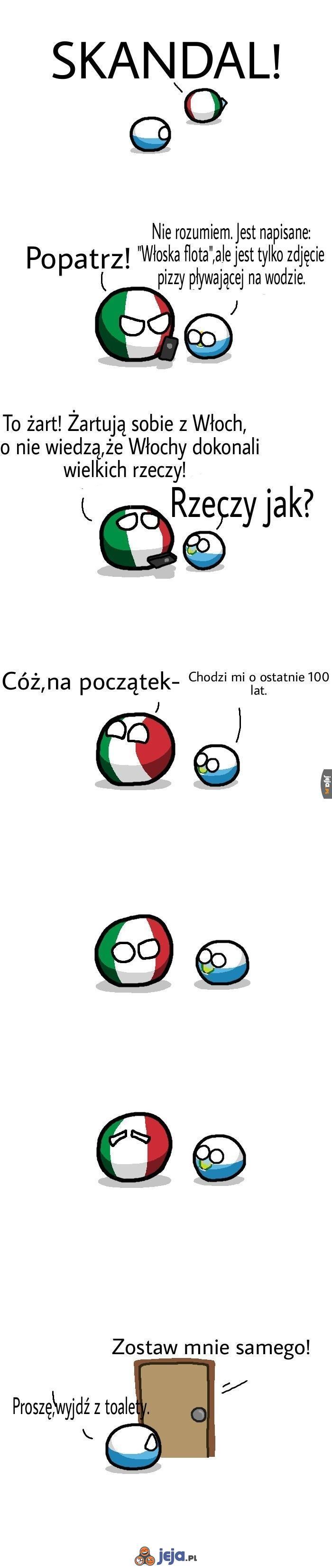 Włoskie dokonania historyczne