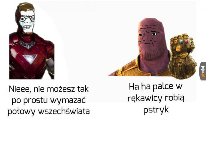 Panie Stark, nie czuję się zbyt dobrze