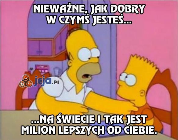 Homer, mistrz motywacji