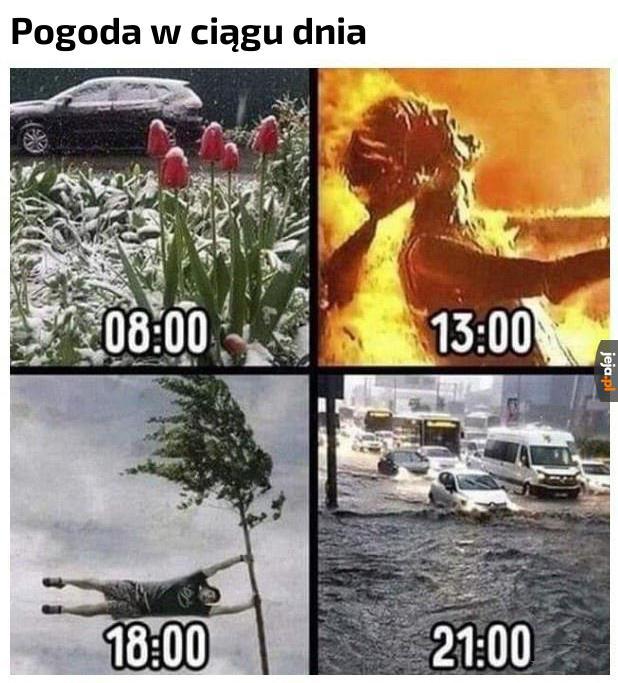 Taki mamy klimat