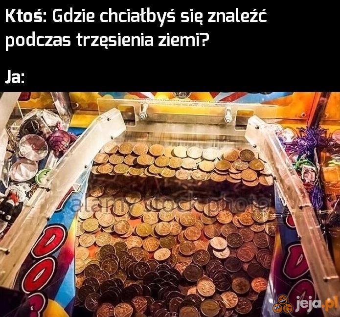 Do mnie, moje pieniążki