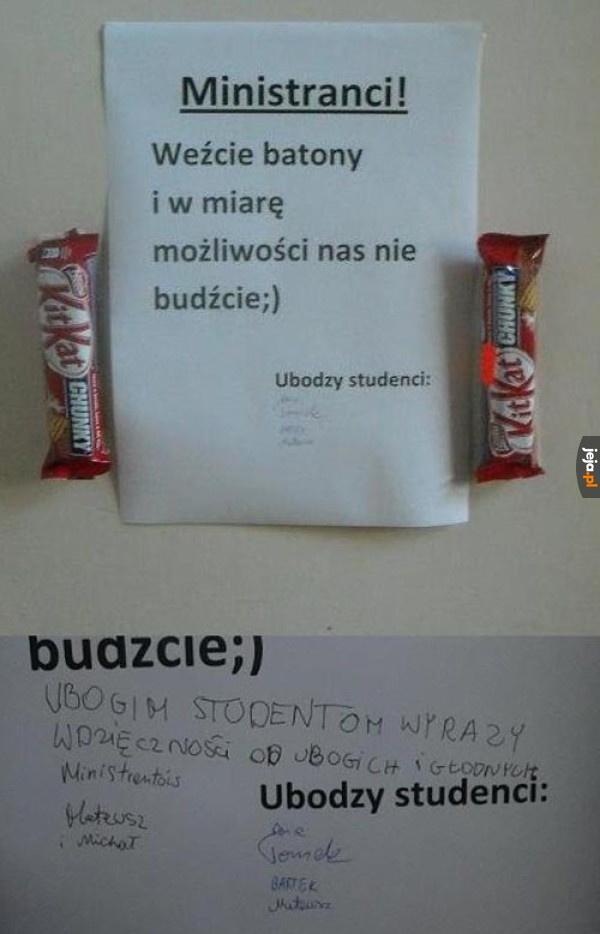 Kolęda w akademiku