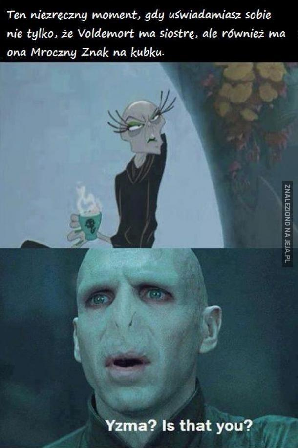 Siostra Voldemorta