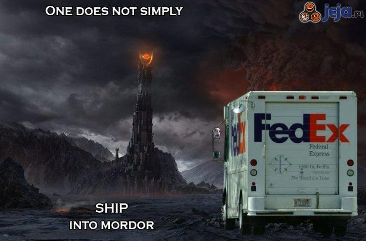 Reklama Federal Express