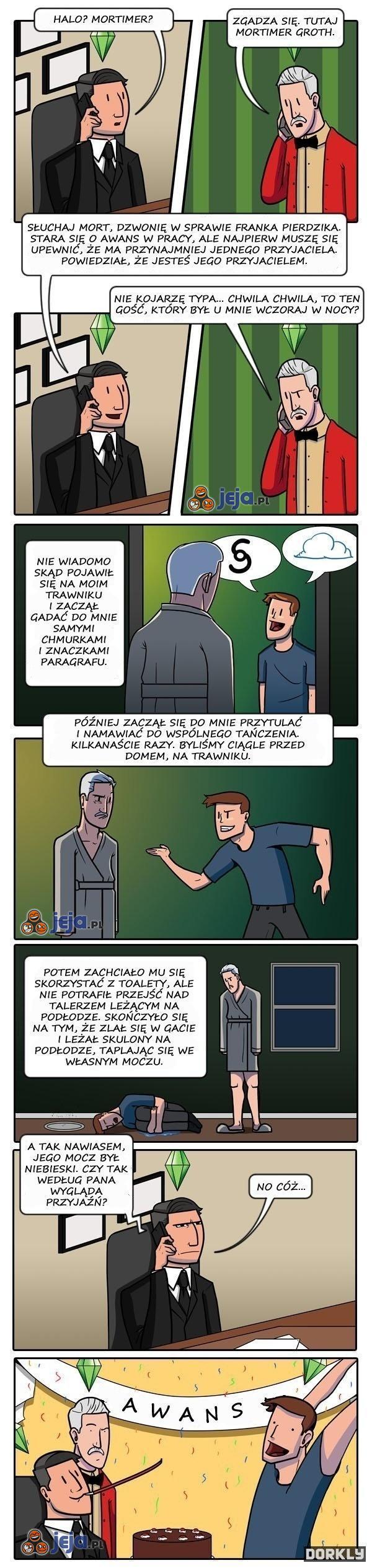 Tymczasem w świecie Simsów...