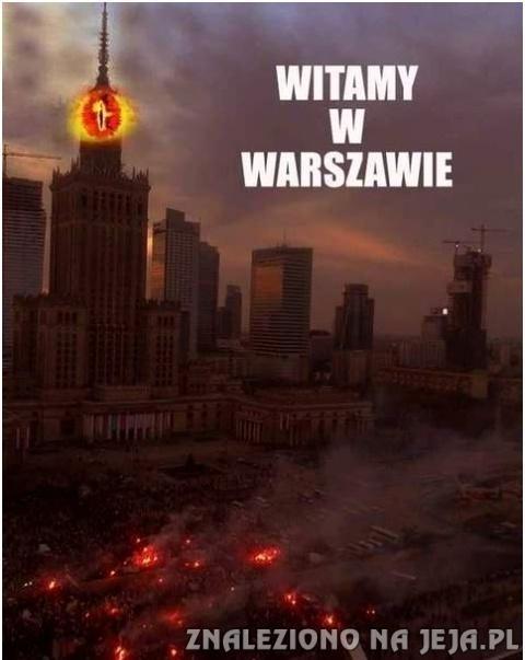 Witamy w Warszawie