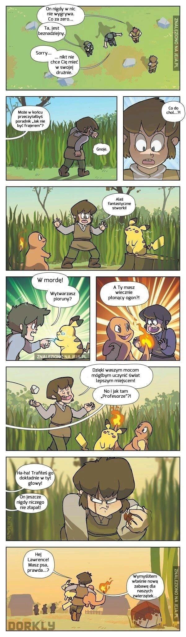 Odkrycie Pokemonów