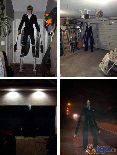 Slenderman na Halloween