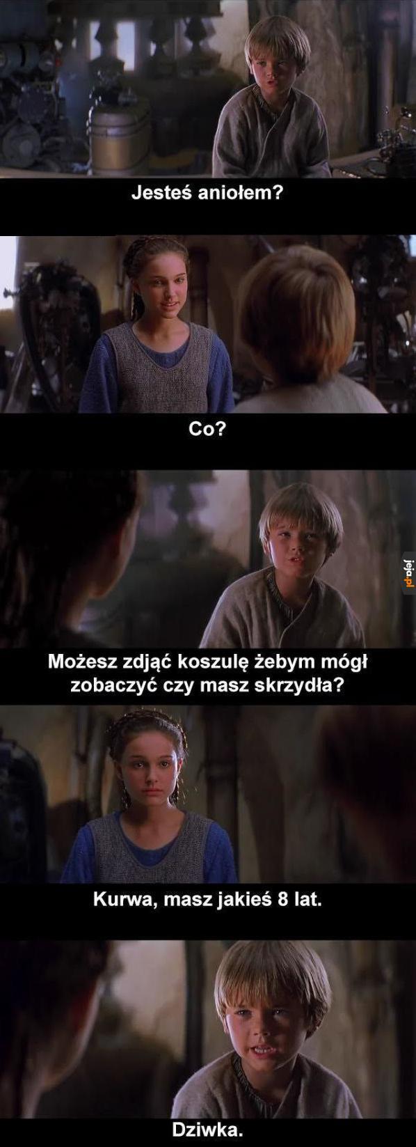 Młody Jedi ma swoje potrzeby