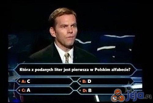 Pierwsza w alfabecie