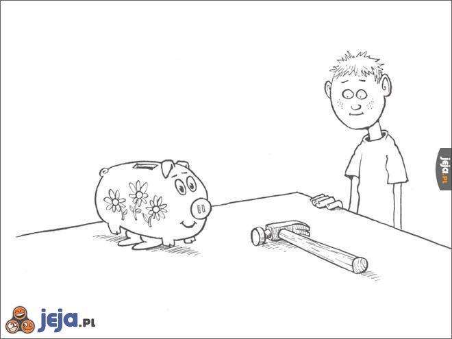 Samobójstwa zajączka: Skarbonka