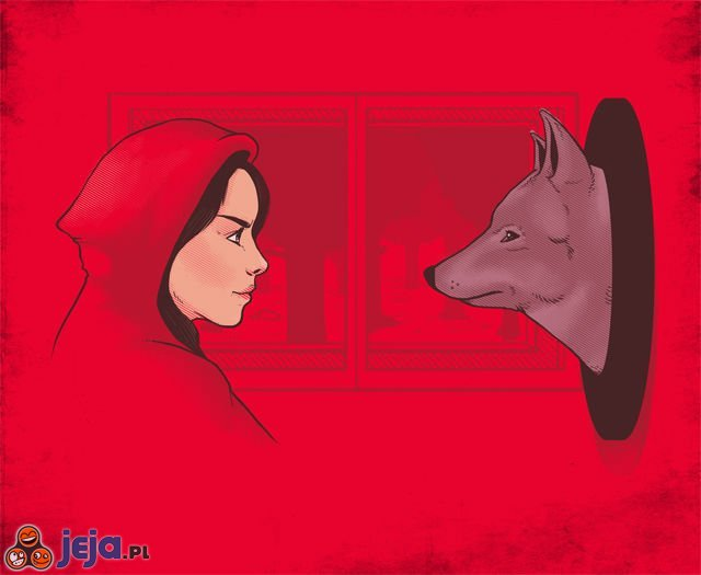 Kapturek vs Wilk