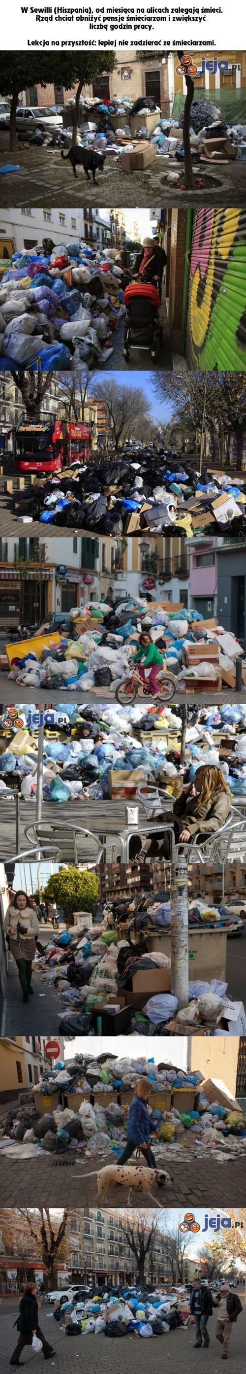 Nie drażnij śmieciarzy