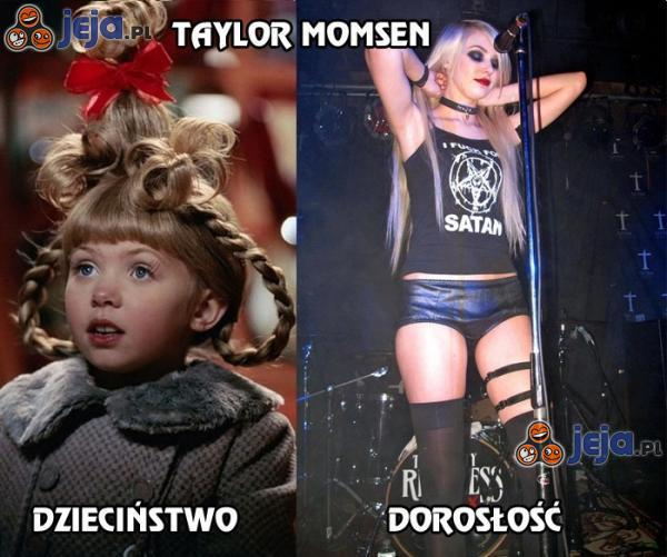 Taylor Momsen - dzieciństwo vs dorosłość