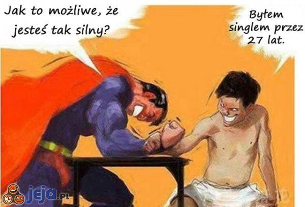 Pokonał Supermana