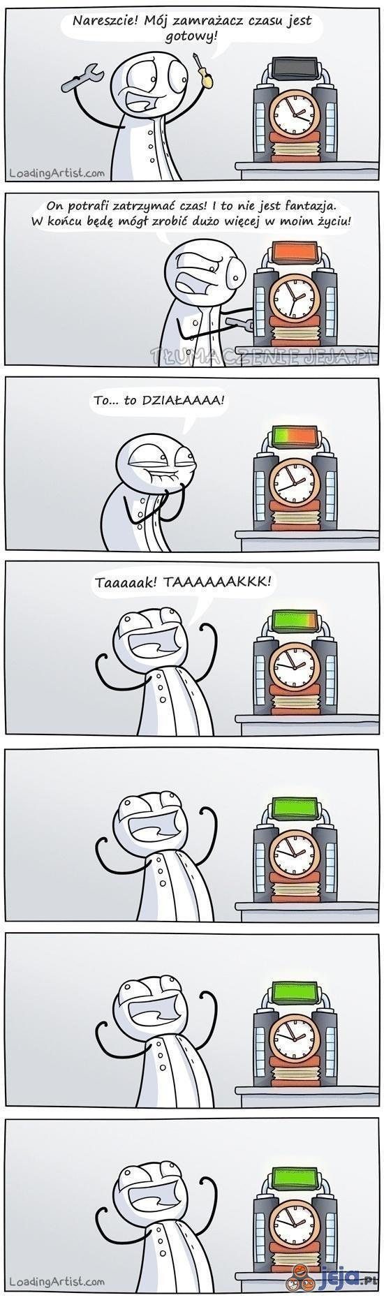 Zamrażacz czasu