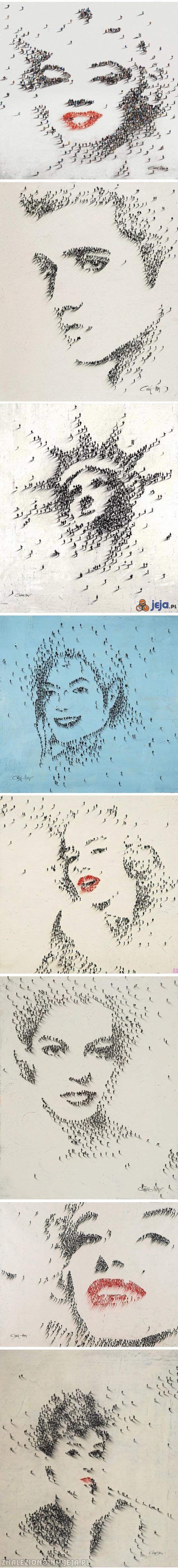 Sztuka z ludzi