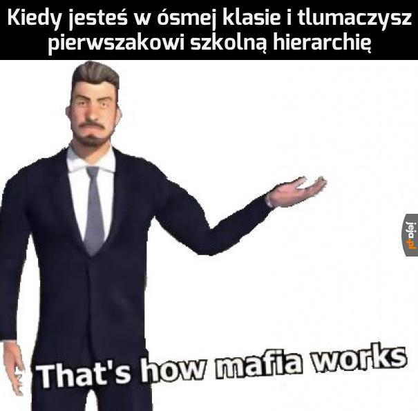 Tak działa mafia
