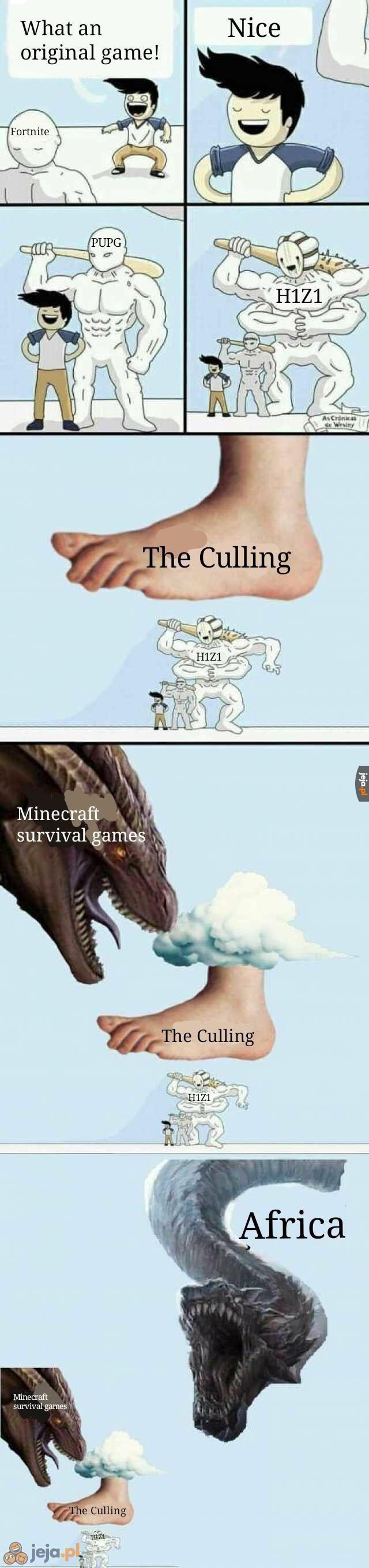 Prawdziwy Battle Royale