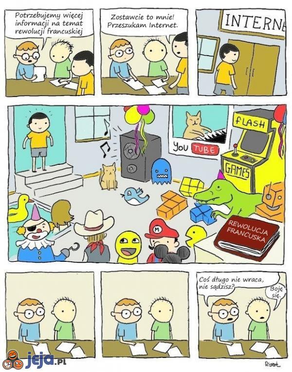 Szukanie informacji  w Internecie