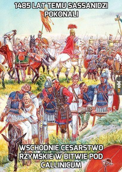 1485 lat temu Sassanidzi pokonali
