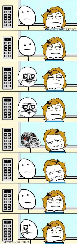 Pewnego dnia w windzie...