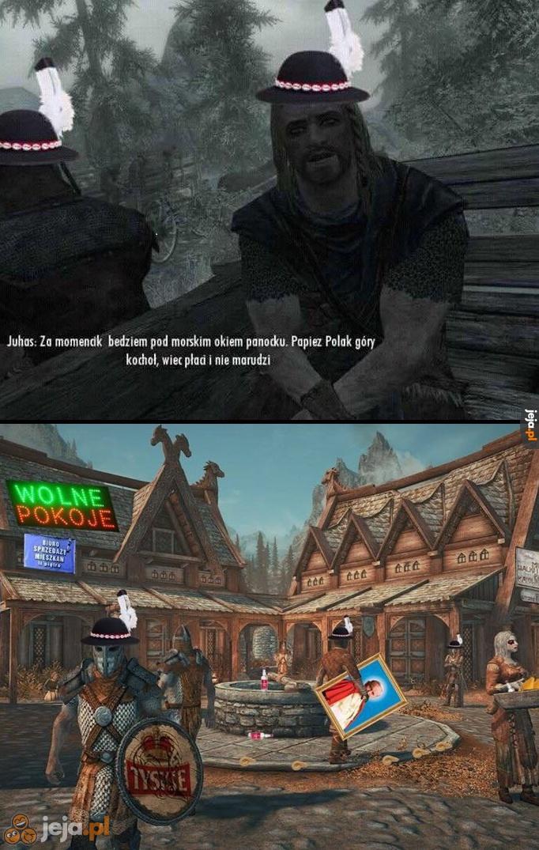 Gdyby Skyrim dział się w polskich górach